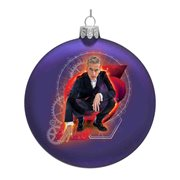 Doctor Who 12th Doctor 4 1/2-Inch Glass Disc Ornament