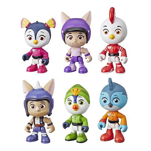 Top Wing 6-Character Collection Pack Mini-Figures