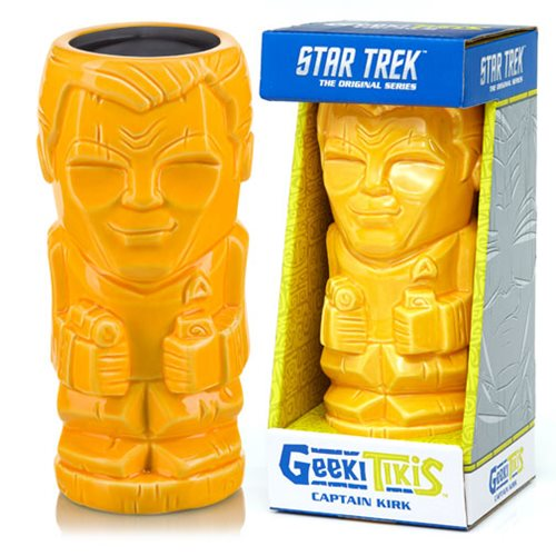 Star Trek: The Original Series Captain Kirk 16 oz. Geeki Tikis Mug
