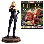 Marvel Lady Mastermind Black Pawn Chess Piece with Collector Magazine