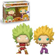 Dragon Ball Super Super Saiyan Kale and Super Saiyan Caulifla Pop! Vinyl 2-Pack - Funimation 2020 Exclusive