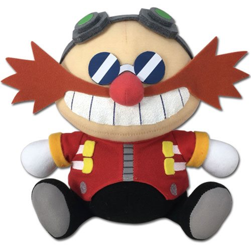Sonic the Hedgehog SD Doctor Eggman Sitting 7-Inch Plush