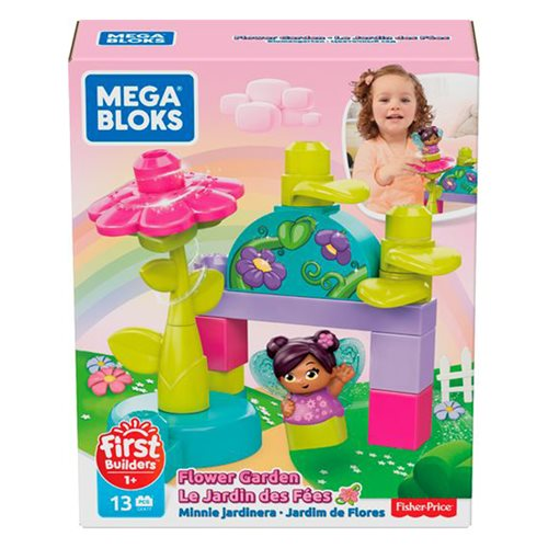 Mega Bloks Lil Fairies Flower Garden