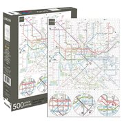 London Underground Map 500-Piece Puzzle