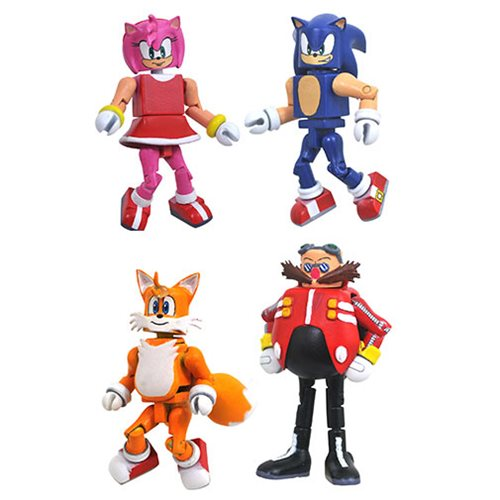 Sonic the Hedgehog Minimates Series 1 Box Set