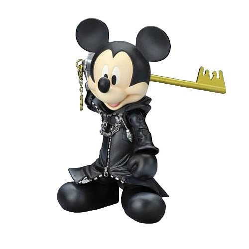 Kingdom Hearts King Mickey Play Arts Action Figure