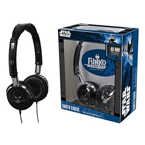 Star Wars Darth Vader Fold-Up Headphones