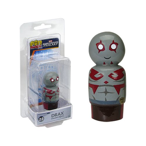 Guardians of the Galaxy Drax Pin Mate Wooden Figure
