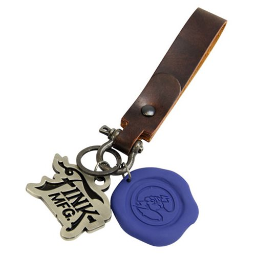 BioShock Shock Jockey Wax Seal Key Chain