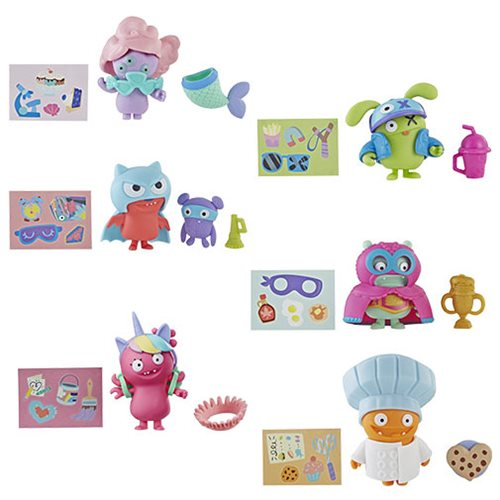 UglyDolls Surprise Disguise Mini-Figures Wave 1 Set
