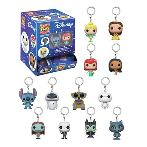 Disney Series 1 Pocket Pop! Key Chain Random 4-Pack