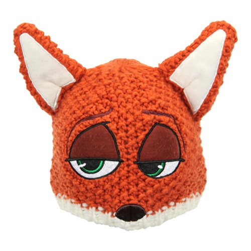 Zootopia Nick Wilde Knit Beanie Hat
