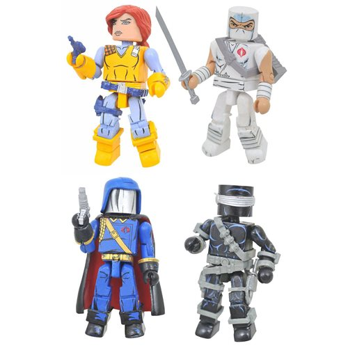 G.I. Joe A Real American Hero Minimates Box Set - FCBD 2021 Previews Exclusive