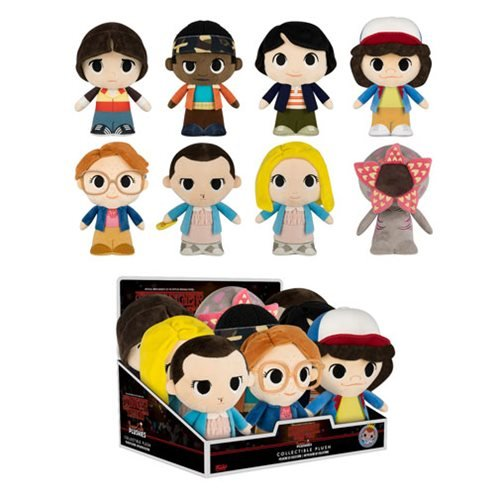 Stranger Things 8-Inch Super Cute Plush Display Case