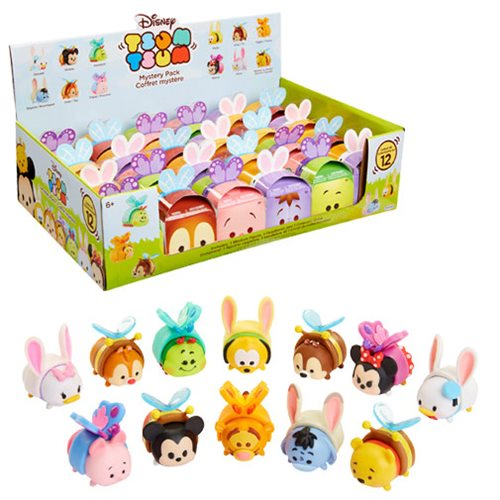 Disney Easter Tsum Tsum Blind Pack Mini-Figures Wave 2 Case