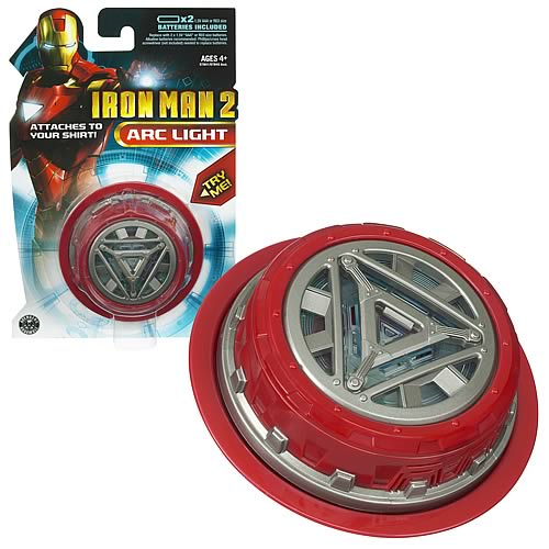 Iron Man Movie Circle ARC Light