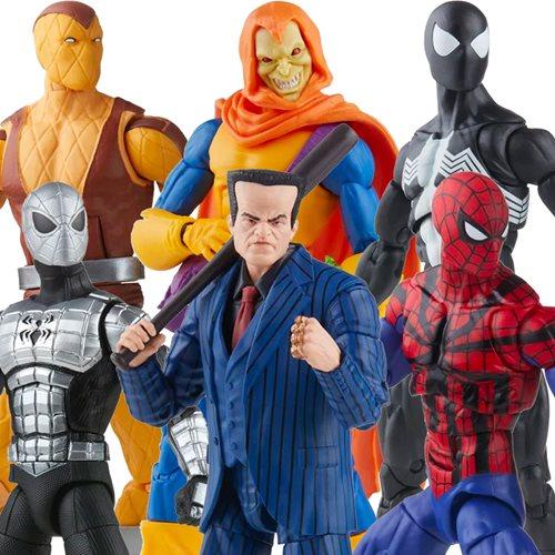 Spider-Man Retro Marvel Legends 6-Inch Action Figures Wave 2