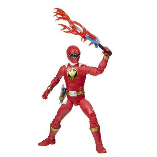 Power Rangers Lightning Collection Dino Thunder Red Ranger 6-Inch Action Figure