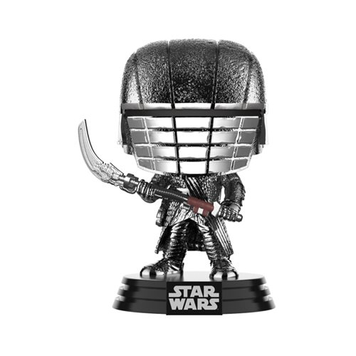 Star Wars: The Rise of Skywalker Hematite Chrome Knights of Ren Scythe Pop! Vinyl Figure