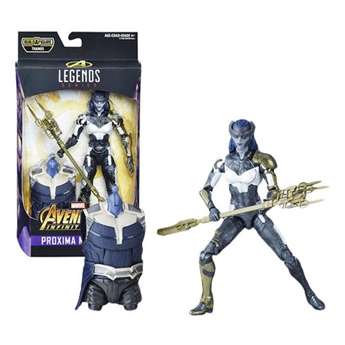 Avengers Marvel Legends Series 6-inch Proxima Midnight Action Figure