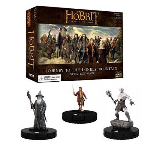 The Hobbit An Unexpected Journey HeroClix Journey to the Lonely Mountain Strategy Game