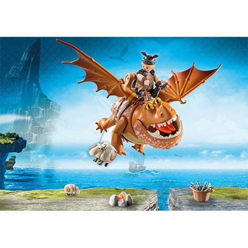 Playmobil 9460 How to Train Your Dragon Fishlegs and Meatlug