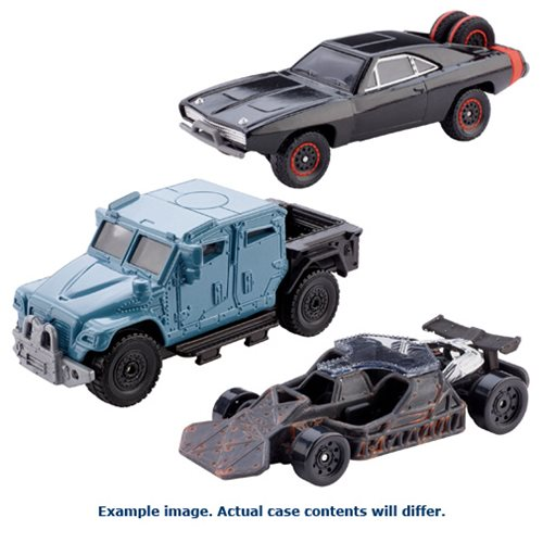 Fast and Furious Die-Cast Metal 1:55 Scale Vehicle Case