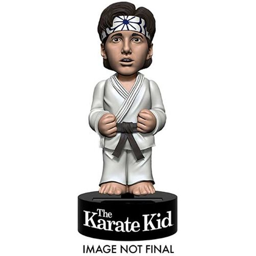 Karate Kid Daniel LaRusso Solar Powered Body Knocker