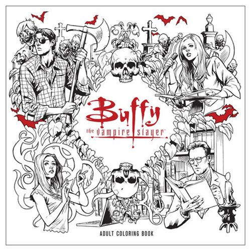Buffy The Vampire Slayer Adult Coloring Book Entertainment Earth