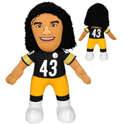 NFL Pittsburgh Steelers Troy Polamalu 10-Inch Plush Figure