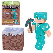 Minecraft Series 3 Alex with Diamond Armor Figure Pack
