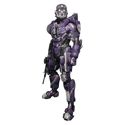 Halo 4 Series 2 Spartan CIO Team Purple Action Figure