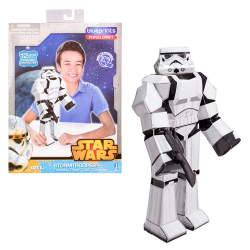 Star Wars Stormtrooper 12-Inch Blueprints Papercraft