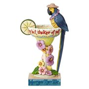 Margaritaville Parrot Cocktail Heartwood Creek Statue by Jim Shore