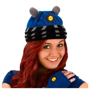 Doctor Who Dalek Blue Beanie