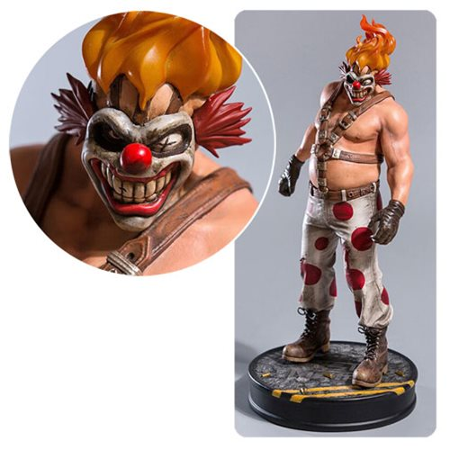 Twisted Metal Sweet Tooth 1:6 Scale Statue