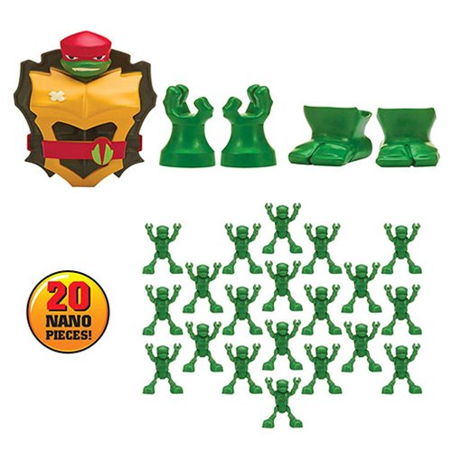 Rise of the Teenage Mutant Ninja Turtles Raphael Nano Clix Figure