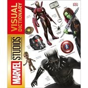 Marvel Studios Visual Dictionary Hardcover Book