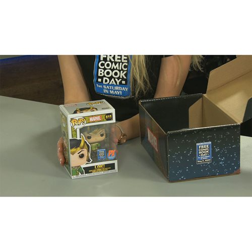 Marvel Funko Loki Mystery Box - Free Comic Book Summer 2020 - Previews Exclusive