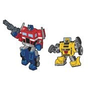 Transformers Optimus Prime and Bumblebee Retro Pin 2-Pack Set