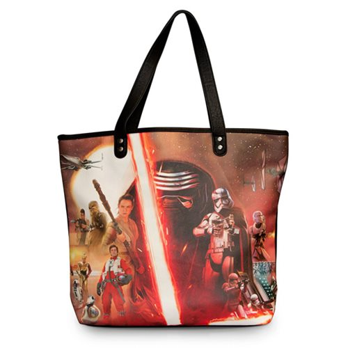 Star Wars: The Force Awakens Movie Poster Photo Tote