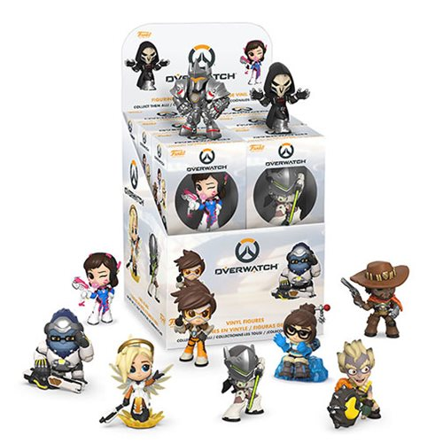 Overwatch Mini Vinyl Figure Random 4-Pack