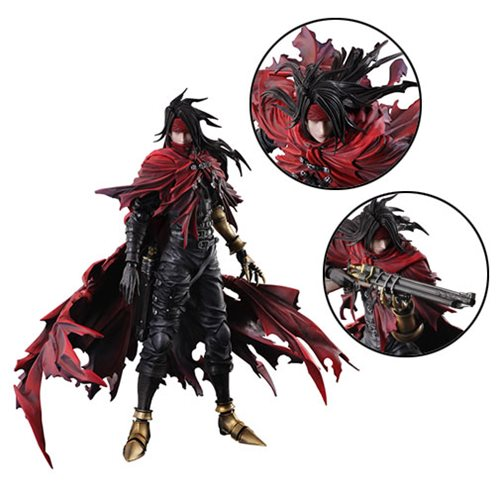 Final Fantasy Dirge of Cerberus Vincent Valentine Play Arts Kai Action Figure