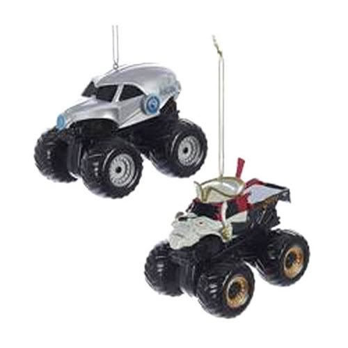 Monster Jam Monster Trucks Ornament Set