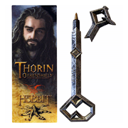The Hobbit Movie Trilogy Thorin Oakenshild Key Pen and Bookmark Set