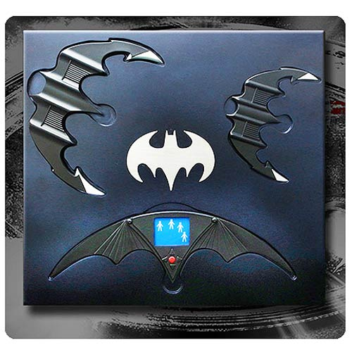 Batman Batarang 1:1 Scale Prop Replica Set