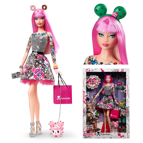 Barbie Tokidoki 10th Anniversary Doll, Not Mint