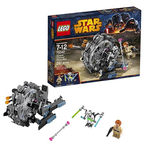 LEGO Star Wars 75040 General Grievous/' Wheel Bike Obi Wan Kenobi