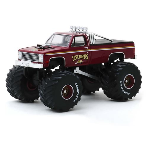 Kings of Crunch Series 6 Taurus 1986 Chevrolet K20 1:64 Scale Monster Truck