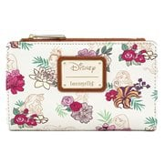 Disney Princess Floral Flap Wallet